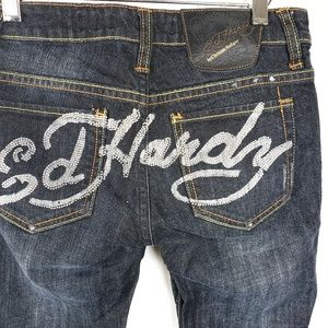 Ed Hardy by Christian Audigier | Embellished Jeans